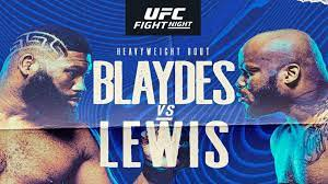 Marc raimondi, espn staff writer 33d mauro ranallo, one of the top broadcasters in combat sports, is returning to pro wrestling. Ufc Fight Night Blaydes Vs Lewis Everything You Need To Know About The Event