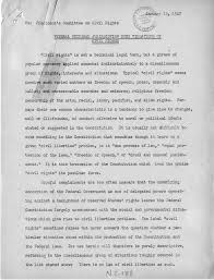 truman library report to president s committee on civil rights  report to president s committee on civil rights federal criminal jurisdiction over violations of civil rights 15 1947
