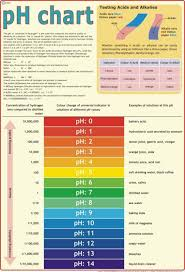 Chemistry Wall Charts Chemistry Laboratory Ph Poster Paper Print Educational
