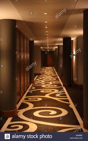 Hotel Corridor Lighting Design Hotel Corridor With A Modern Carpet And Lighting Design At