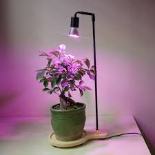 Hydroponic Light Stand Full Spectrum Led Plant Grow Light Stand Desk Lamp
