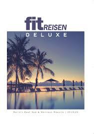 Fit Reisen Katalog Deluxe 201920 By Fit Reisen Issuu