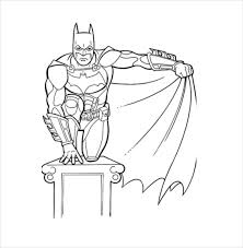 Small Picture Batman Coloring Pages 21 Free PSD AI Vector EPS Format