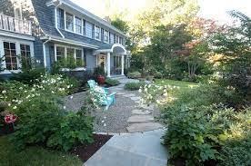 pea gravel patio gravel landscaping