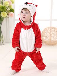 Kigurumi Onesie Size Chart Toddler Cartoon Jumpsuit Fox Red Pajamas Kigurumi Onesie