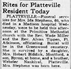 Obituary for Ida Stephens (Aged 60) - Newspapers.com