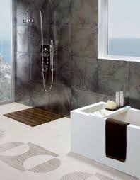 Stylish open shower bathroom design ideas
