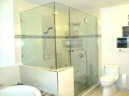 shower glass cost plain glass shower doors plain