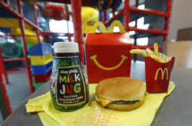 Mcdonalds Tries To Shake Its Junk Food Image By Slimming