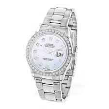 rolex diamond watches custom watches for men women custom diamond bezel rolex datejust mens watch 3ct