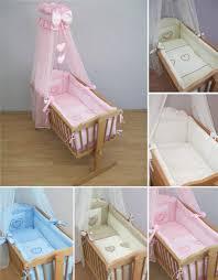 deluxe crib bedding accessories cradle per set canopy