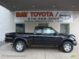 2004 Toyota Tacoma V6 TRD Xtracab 4x4 in Black Sand Pearl - 433083 ...
