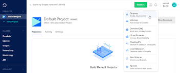 How To Creat How To Create A Droplet From The Digitalocean Control Panel