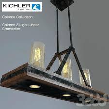 kichler lighting chandelier 3 light linear chandelier kichler lighting grand bank chandelier