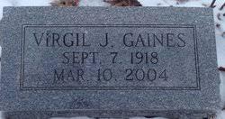 Virgil Gaines (1918-2004) - Find A Grave Memorial