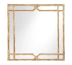 gold bamboo mirror. Jasmine Bamboo Mirror Gold -
