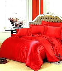 red velvet comforter modern embroidered and brown set king bedding quilted shams sets