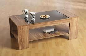 preferred glass oak coffee tables regarding coffee tables ideas wood coffee table with glass top