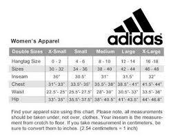 Adidas Men S Size Chart Pants Adidas All Womens Golf Pants