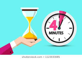 Timer 4 Min 4 Minute Images Stock Photos Vectors Shutterstock