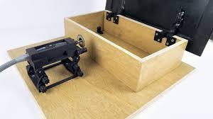 3D Printed Dremel Rotary Tool <b>Mini Table</b> Saw Prototype - YouTube