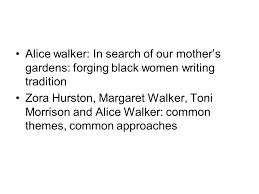 in search of our mothers garden essay the two year pilot program good for college