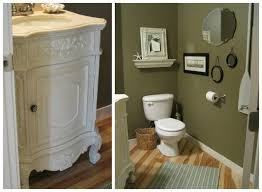 powder room furniture. A Powder Room Transformation With Paint And Accessories From The Inspired Blog Furniture