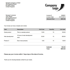 Nz Tax Invoice Template Free Invoice Template