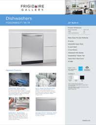 frigidaire dishwasher fgid2466qb pdf wiring diagram frigidaire fgid2466qb owner s guide · frigidaire fgid2466qb manual
