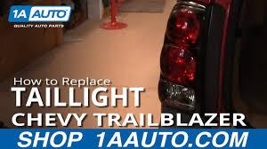2003 Chevy Trailblazer Brake Light Bulb Replacement How To Replace Tail Light 02 09 Chevy Trailblazer