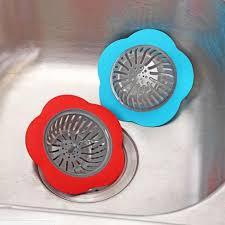 Kitchen Sink Drain Strainer Bathroom Hair Catcher Drainage Filter