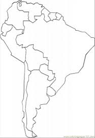 Latin America Outline Maps South America Map Outline Printable Map South America Labeled With