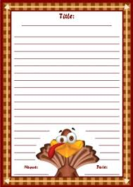 Thanksgiving Letter Templates Thanksgiving Printable Worksheets Colorful Fall Autumn