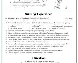 Printable Examples Of Resumes Lpn Resume Objective Examples