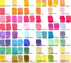 Distress Ink Color Chart 2017 Little Art Cottage Distress Ink And Distress Oxide Ink