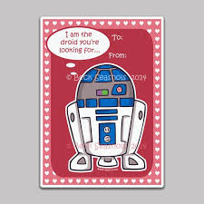 Or maybe you're looking to step up your date night. Star Wars R2d2 Printable Valentine S Day Cards By Beckadoodles 5 00