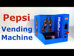 Hack Pepsi Vending Machine Mesmerizing How To Make Pepsi Vending Machine YTDownloaded