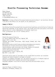 Supply Technician Resume Example resume Sterile Processing Technician Resume 7