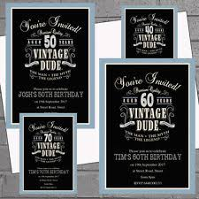 60th birthday invitations for him 60th party invitations ebay