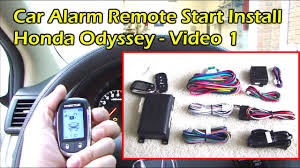 install car alarm remote start wire preparation honda odyssey 2002 Mercury Sable Engine Diagram at 1999 Cougar Remote Wire Diagram