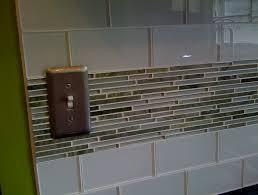 glass tile trim kitchen astounding backsplash ideas pertaining for inspirations 12