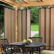 image of elegant bamboo curtains