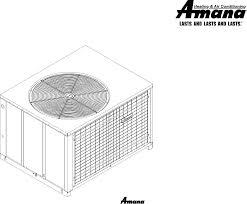 amana electric heater package heat pump user guide manualsonline com goodman company l p