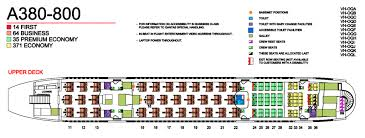 Qantas Premium Economy Seating Plan A380 Best Description