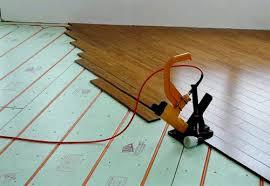 bat floor radiant heating system