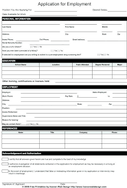 job application form template basic rental application form for employment ooojo co