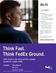 Fedex Sort Observation Fedex Ground Olive Branch Job Career News From The Memphis