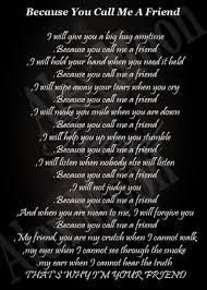Best Friend Poems on Pinterest | Friendship Poems, Sister Poems ... via Relatably.com