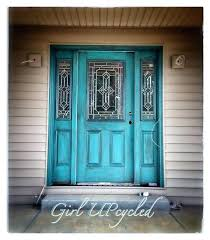 Turquoise front door Teal Turquoise Front Door Turquoise Door Front Door Color My Latest Paint Technique On Local Residential Newly Built Home Bring Touch Of Old Country With Bob Vila Turquoise Front Door Turquoise Door Front Door Color My Latest Paint