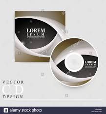 Modern Cd Cover Design Modern Cd Cover Template Design With Glossy Wave Elements